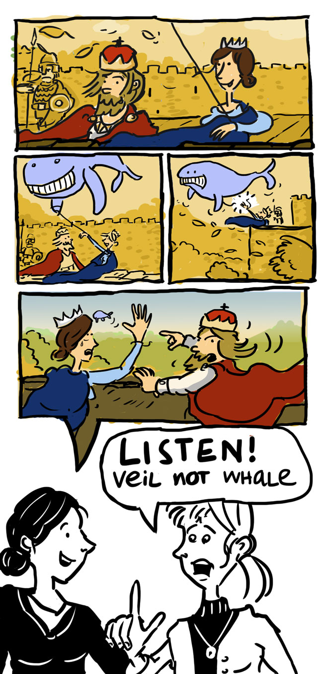 The Legend of the whale